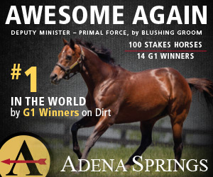 AWESOME AGAIN � #1 by G1 SWs on Dirt!
